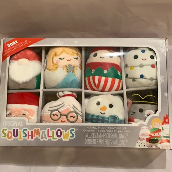 Squishmallows brand new 2021 classic holiday squad